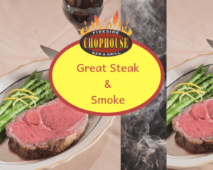 steakhouse williamsburg tips smoke and great steak at Fireside Chophouse