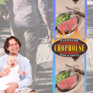 Fathers day restaurant Fireside Chophouse open in williamsburg virginia