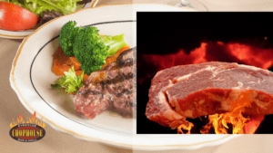 Fireside Chophouse in Williamsburg VA steaks